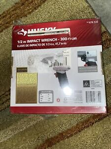 Husky H4430 1 2 Air Impact Wrench 300 Ft Lbs