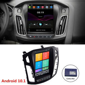 For Ford Focus 2012 17 Vertical 9 7 Android 10 1 Car Radio Mp5 Player Gps Wifi