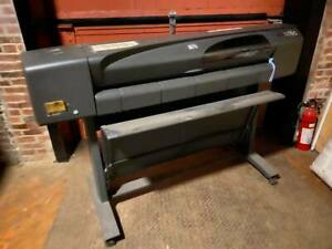 Hp Designjet 800 Wide Format Printer please Read Description
