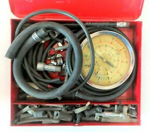 Snap On Fuel Vacuum And Fuel Pump Pressure Tester Gauge For Carbureted Engines
