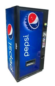 Vendo V264 Pepsi Flat Front Single Price Can Vending Machine Free Shipping