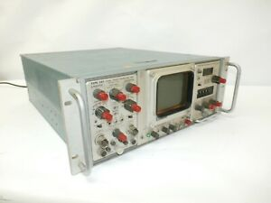 Tektronix Type 568 Oscilloscope 3s1 Dual trace Sampling Unit 3t6 Sampling Sweep