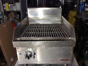16 Char Broiler Grill Gas Ap Wyott Refurbished Immaculate