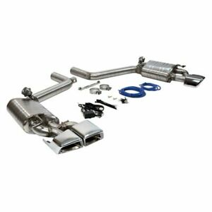 Mercedes benz E63 Amg Sports Sound Direct Fit Valved Stainless Exhaust Mufflers