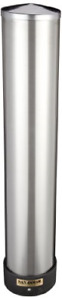 San Jamar C3400p 12 24 Oz Stainless Steel Pull Type Beverage Cup Dispenser With