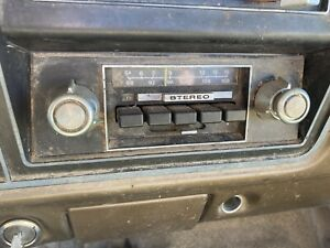 1973 1979 Ford Truck 78 79 Bronco Am Fm Stereo Radio 73 79 1973 79 F150 79 78 76