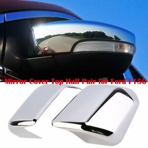 Car Mirror Cover Top Half Pair For Ford F150 Abs Plastic 29 5 X 32cm Us Stock Be