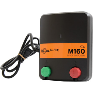 Gallagher M160 100 acre Electric Fence Charger G330444 1 Each