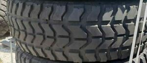 5 Goodyear Wrangler Mt Oz 37x12 50r16 5 Military Humvee Mud Truck Tires 80