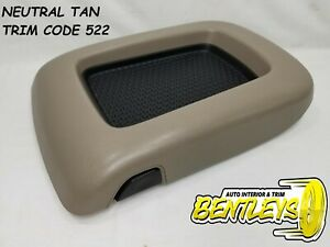 2003 2004 2005 2006 Chevy Tahoe Yukon Suburban Center Console Arm Rest Lid Tan