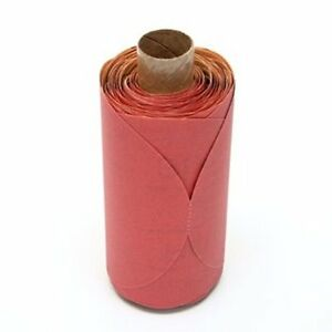 40 Off 6 Rolls 3m Red Abrasive 5 P400 Psa Disc Roll 01602 100 Disc roll