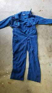 Fr Nomex Coverall Blue 40 Short