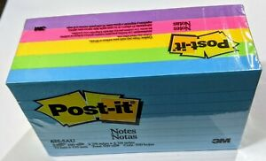 Brand New Post it 3 X 5 Lined Notes 635 5au 5 Pad Pack Assorted