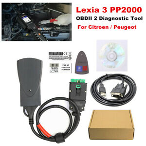Lexia 3 Pp2000 For Citroen Peugeot Obdii 2 Diagnostic Tool W Diagbox V7 83 Kit