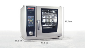 Brand New Rational Scc Xs 6 2 3 Electric Selfcooking Center Combi Oven Bundle