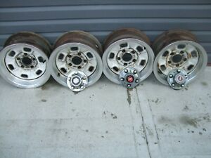Chevy El Camino Rally Wheels 14