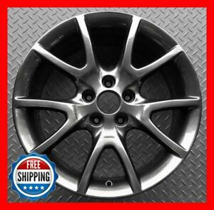 Dodge Dart 2013 2014 2015 2016 Factory Oem Wheel 17 Rim Dark Charcoal 2481 r