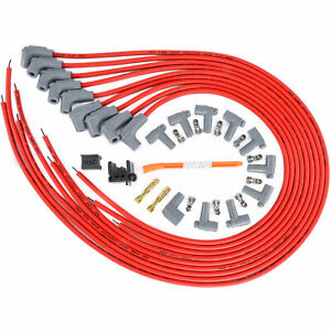 Msd Ignition 31229 Red Universal 8 5mm Spark Plug Wire Set
