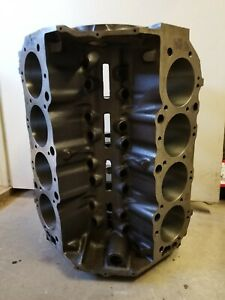 1968 427 Chevy Engine Block Casting 3915321 Date L287 Std Bore