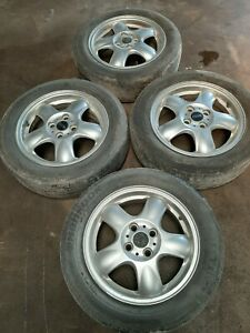 2007 2010 Mini Cooper Base R56 175 65 15 Wheel Rim W Tire Set Of 4 Oem