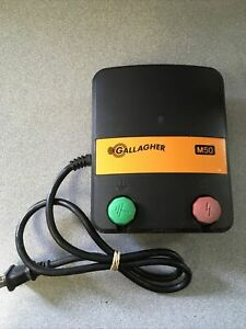 Gallagher Electric Fence Charger M50