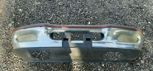 97 98 Ford F150 Front Bumper Complete As Pictured Chrome Lights Brackets