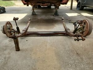 Straight Axle Gasser Rat Rod Race Car Ford Chevrolet