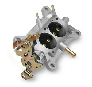 Holley 112 2 Carburetor Base Plate Assembly Cast Aluminum Holley 2300 Series 50