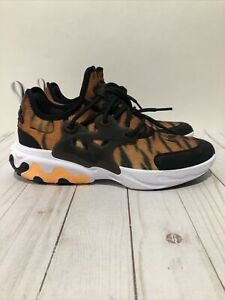New Nike React Presto Magma Print Running Shoes CT6623 800 Kids Size 6.5Y $89.99