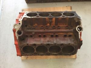 1966 327 Engine Block 3791362 Zi Suffix Turbo Fire Chevy Ii Nova Date L 9 5