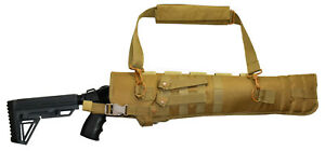 TRINITY mossberg 500 ati Tactical Scabbard Hunting Tactical Tan Soft Padded. $36.95