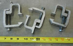 3 Used Pickup Truck Aluminum Cap Bed Clamps