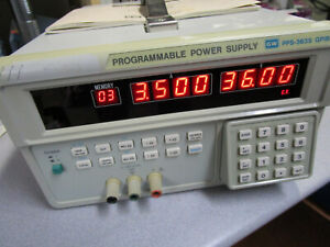 Gw Instek Programmable Power Supply Pps 3635 Tested