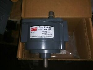 Dayton 2z821a Die Cast Aluminum Indirect Drive Speed Reducer 23 4 To 1 New