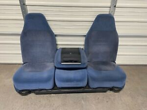1992 1997 Ford F150 F250 F350 Bronco Bucket Seats With Console