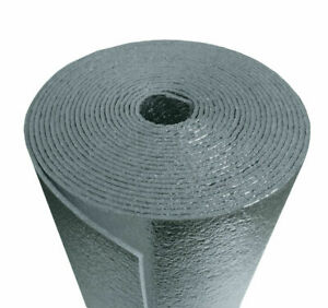 Reflective Foam Thermal Foil Insulation Radiant Barrier 3x5 Ft Roll 1 4 15sqft