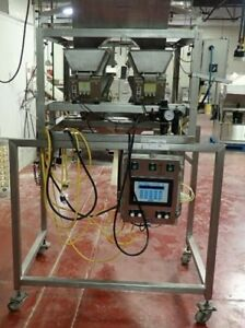 Powell Systems Inc Double Scale Weigh Counter Bagger Machine