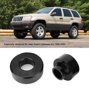 2 Front Rear Leveling Lift Kit Fit For Jeep Grand Cherokee Wj 1999 2004 Black