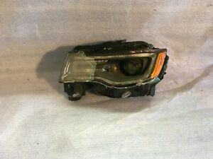 2014 2015 Jeep Grand Cherokee For Parts Use Only Left Xenon Headlight Oem