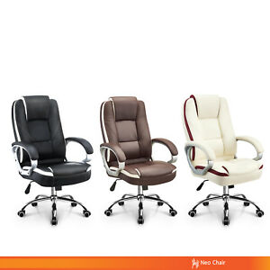 Office Chair Executive Computer Desk Chair Gaming Ergonomic High Back Support