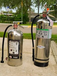 Stainless Steel Commercial Kitchen Fire Extinguisher classification K And 2