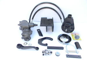 New 49 50 51 52 53 54 Chevy Power Steering Conversion Sbc Or 6 Cylinder