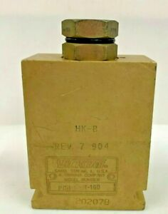 Vickers Eaton Pts1 10 6t 160 Pilot To Shift Hydraulic Valve 3 way 2 Position Sae
