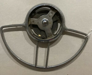Vintage 1948 1954 Packard Steering Wheel Chrome Horn Ring Antique Old Car Parts