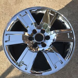 20 Inch Wheel Ford Expedition 2007 2011 Oem Genuine Chrome Clad 3659