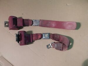 Oem Chevrolet Gmc Blazer Jimmy Suburban Red Seat Belts