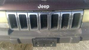 1996 1997 1998 Jeep Grand Cherokee Grille
