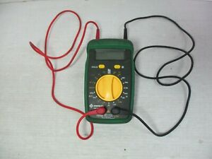 Greenlee Dm 40 Ohm Amp Electrical Meter With 36 Cords 5 Ends