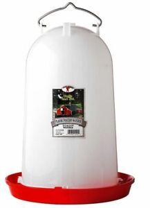 Little Giant 7906 Poultry Waterer 3 Gallon