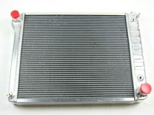 1968 74 Chevy Nova Aluminum Dual Row 20 3 4 Core Radiator Bpk 6204